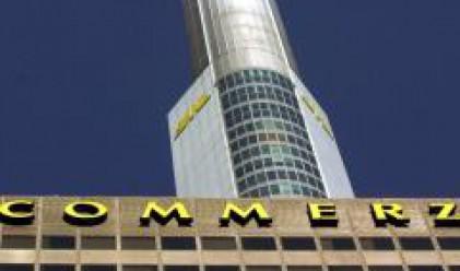 Печалбата на Commerzbank пада с 54% през първото тримесечие