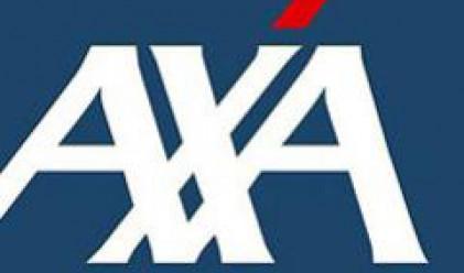 Приходите на френската Axa падат заради по-слабия щатски долар