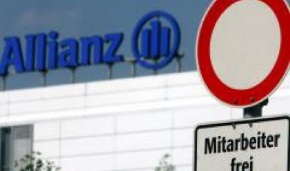 Загуба на Dresdner Bank доведе до спад в печалбата на Allianz