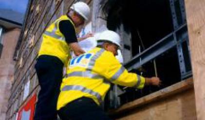 Британските строителни предприемачи започват съкращения