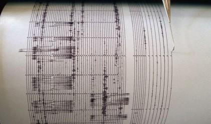 Регистрирано е земетресение на територията на България