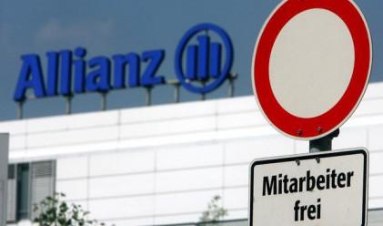 Печалбата на Allianz скача почти четири пъти