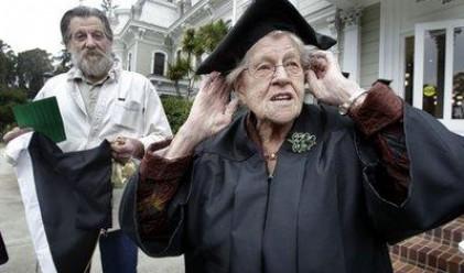 Баба завърши колеж на 94-годишна възраст