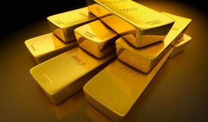 Ръст в цената на златото след спада от миналата седмица