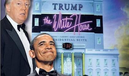 Обама си направи гавра с Доналд Тръмп