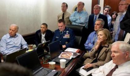 Как Белият дом проследи операцията срещу Осама?