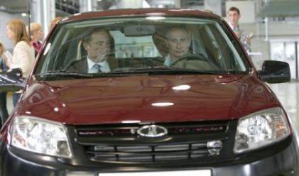Путин подкара новата Лада