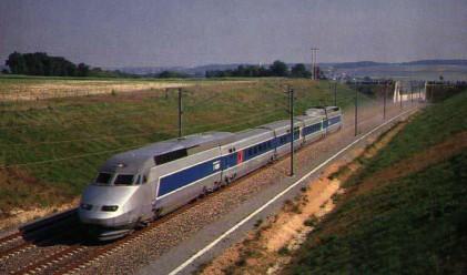 Първи високоскоростен влак в Китай