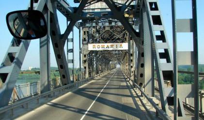 Строят най-високата точка от моста Видин-Калафат
