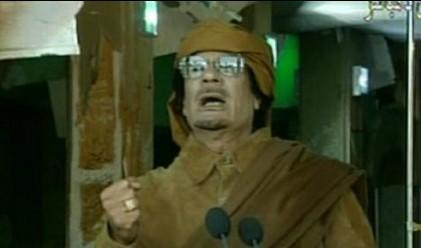 Кадафи се появи по телевизията