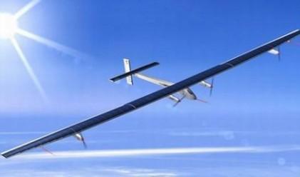 Представиха първия слънчев самолет