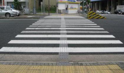 Слагат перли на пешеходните зебри