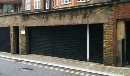 Гараж в ултраскъп район на Лондон: 500 000 паунда