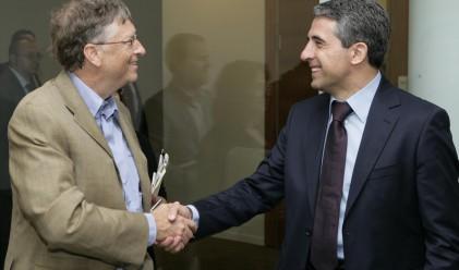 Бил Гейтс дава съвети на България