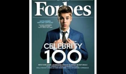 Джъстин Бийбър ще бъде на корицата на списание Форбс