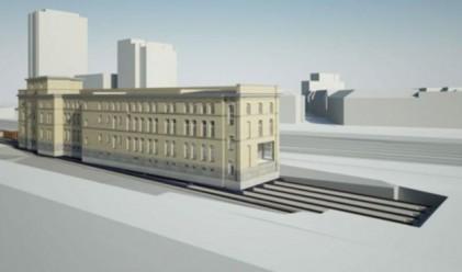 В Швейцария местят 6200-тонна сграда