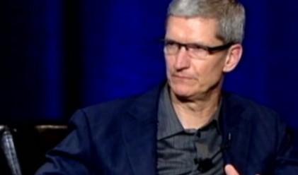 Шефът на Apple обядва с произволен служител всеки ден