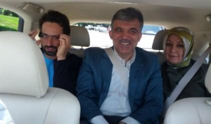 Президентът на Турция се повози на Google автомобил