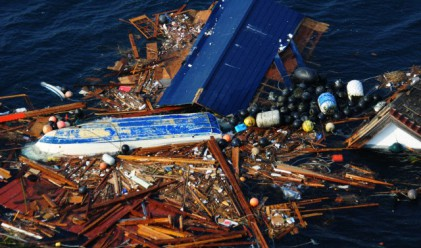 40 тона отломки от цунамито в Япония достигнаха до Аляска