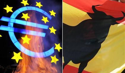 Рекорден спред в лихвите между испанските и немските облигации