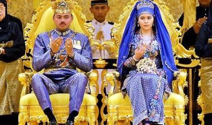 Луксът, в който живее кралското семейство на Бруней