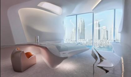 Невероятна офис сграда по проект на Заха Хадид в Дубай