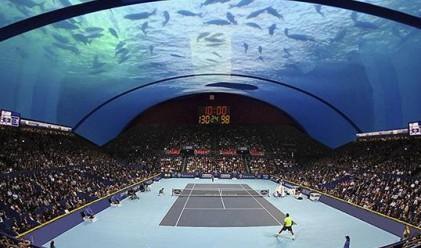 Дубай може да се сдобие с подводен тенискорт