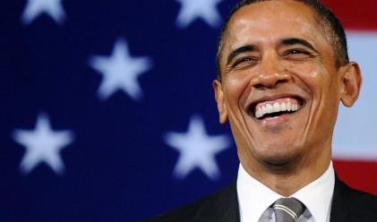 Обама нарече на шега Клинтън своя приемничка
