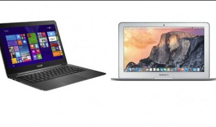Евтин ноутбук от Asus се цели в господството на Macbook Air