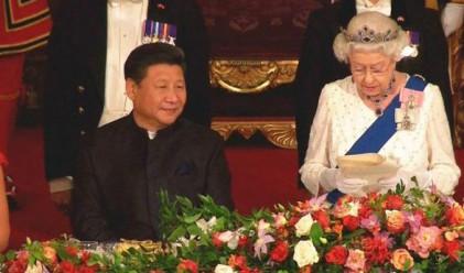 Английската кралица определи китайски държавници като груби