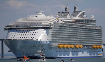 Ето как изглежда най-големият круизен кораб, струващ 1 милиард