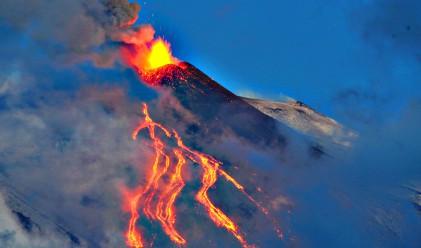 Вулканът Етна започна да изригва