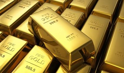 Златото с нов тримесечен минимум