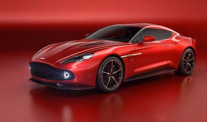 Aston Martin представи концептуален модел Zagato