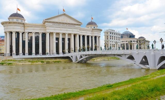 7 задържани за нападението на македонския парламент