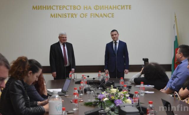 В. Горанов: Ще влезем в еврозоната с тиха дипломация