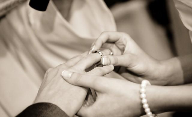Двойката, която сключи брак на най-невероятното място в света