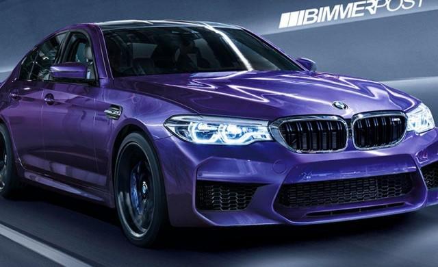 BMW M5 2018 ще бъде най-мощният автомобил на марката