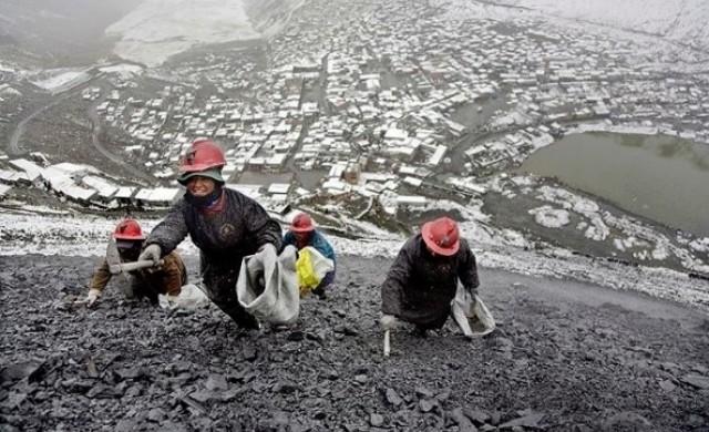 Най-високият град в света се издържа от незаконни златни мини