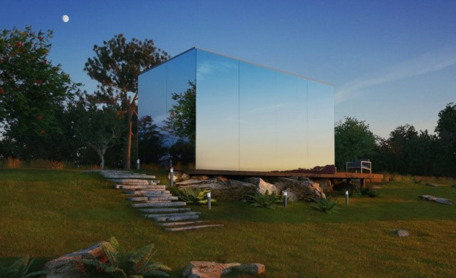 """Тези стъклени къщи """"се появяват""""за 8 часа"""