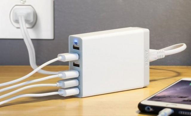 Най-добрите зарядни устройства с много портове