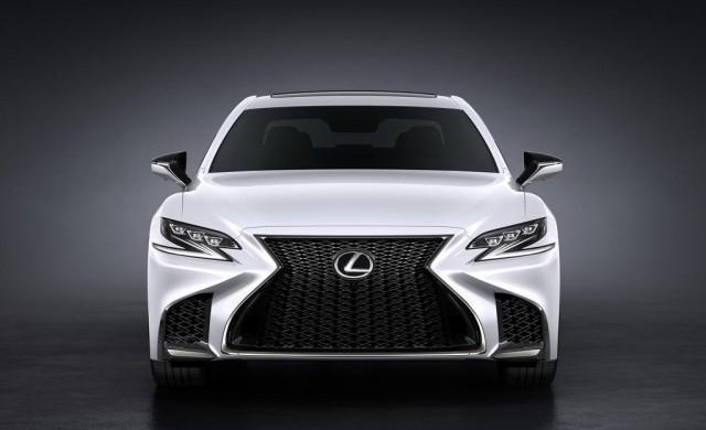 Новият Lexus LS F Sport
