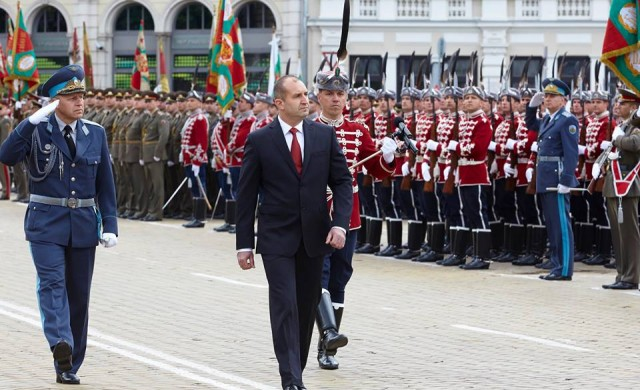 Президентът Румен Радев отчете първите 100 дни от мандата си