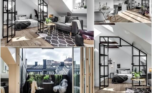 10 мансардни апартамента, в които ще се влюбите
