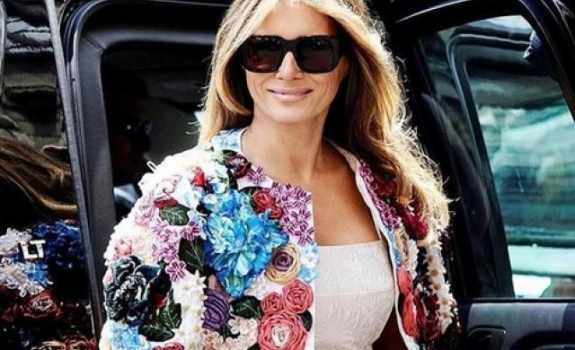 Мелания Тръмп си навлече критики заради палто на Dolce&Gabanna