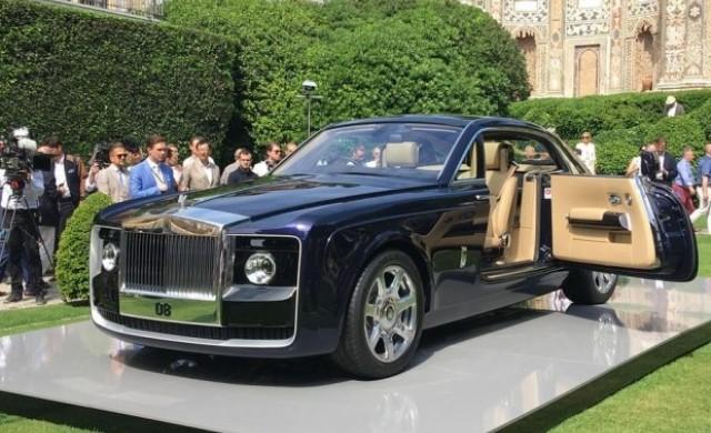 В Италия представиха най-скъпия автомобил