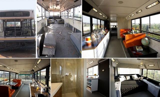 Преобразяването на един супер раздрънкан автобус