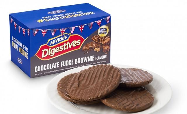 Бисквити, създадени специално за кралската сватба
