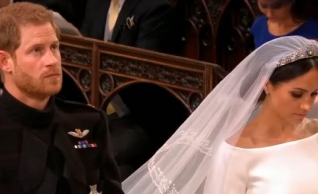 Какво прошепна Хари на Меган пред олтара?