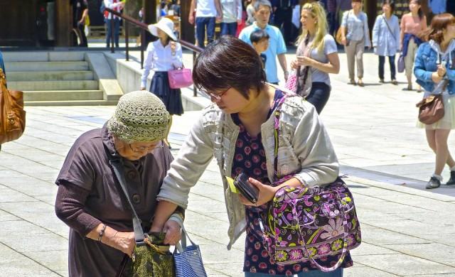 Застаряването на Япония подкопава доходите в страната